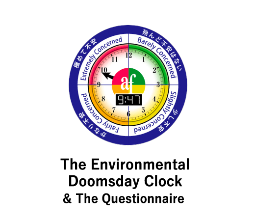 The Environmental Doomsday Clock & The Questionnaire